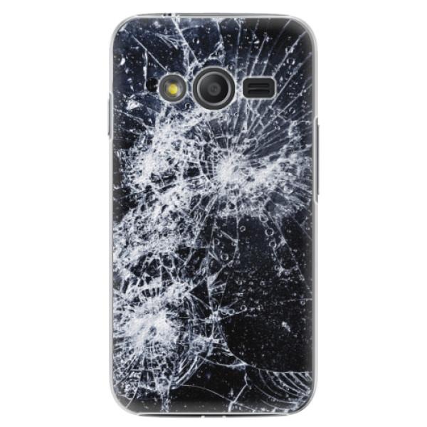 Plastové puzdro iSaprio - Cracked - Samsung Galaxy Trend 2 Lite