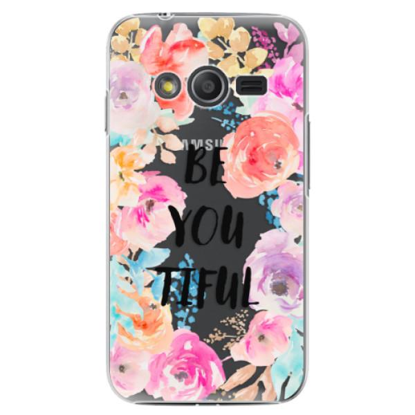 Plastové puzdro iSaprio - BeYouTiful - Samsung Galaxy Trend 2 Lite