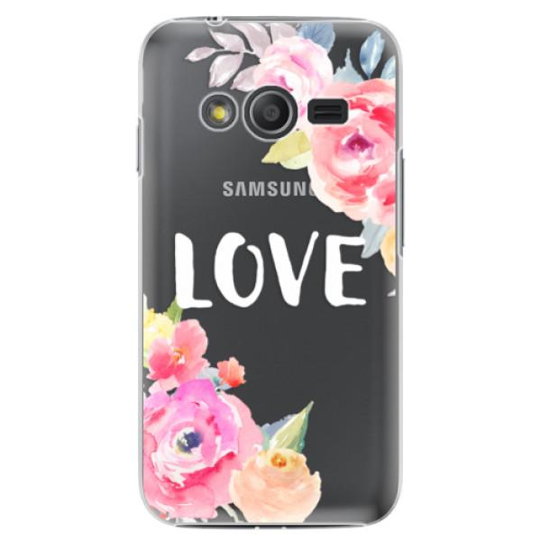 Plastové puzdro iSaprio - Love - Samsung Galaxy Trend 2 Lite