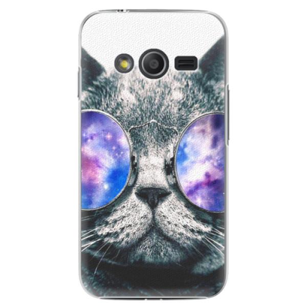 Plastové puzdro iSaprio - Galaxy Cat - Samsung Galaxy Trend 2 Lite