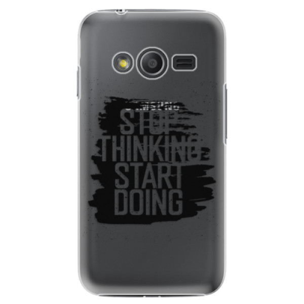 Plastové puzdro iSaprio - Start Doing - black - Samsung Galaxy Trend 2 Lite