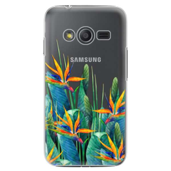 Plastové puzdro iSaprio - Exotic Flowers - Samsung Galaxy Trend 2 Lite