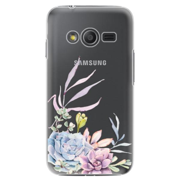 Plastové puzdro iSaprio - Succulent 01 - Samsung Galaxy Trend 2 Lite