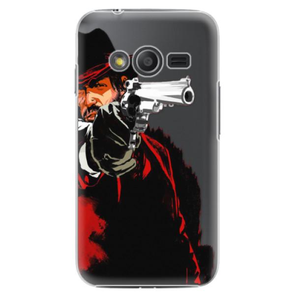 Plastové puzdro iSaprio - Red Sheriff - Samsung Galaxy Trend 2 Lite