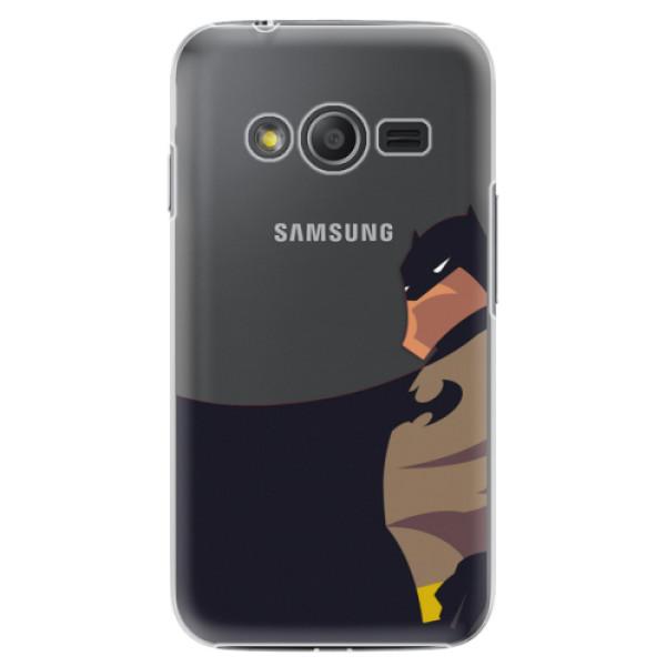 Plastové puzdro iSaprio - BaT Comics - Samsung Galaxy Trend 2 Lite