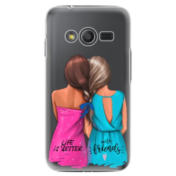 Plastové puzdro iSaprio - Best Friends - Samsung Galaxy Trend 2 Lite