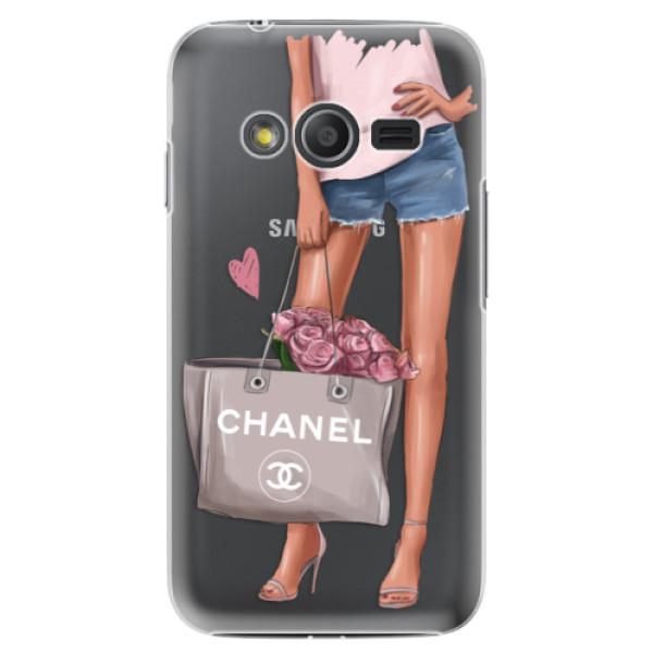 Plastové puzdro iSaprio - Fashion Bag - Samsung Galaxy Trend 2 Lite