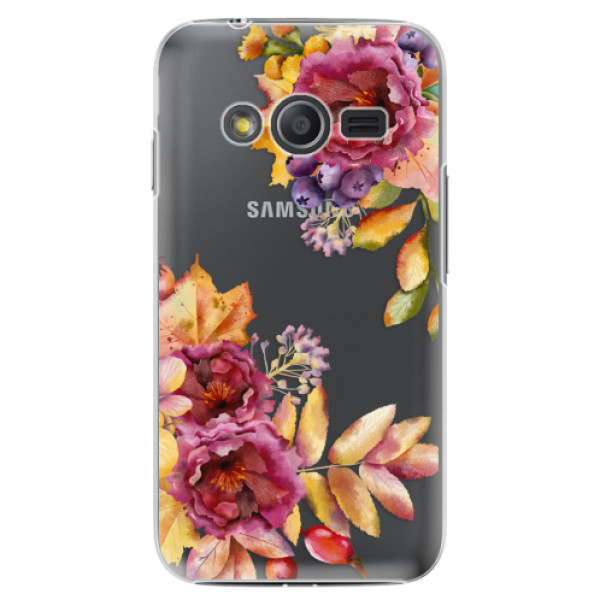 Plastové puzdro iSaprio - Fall Flowers - Samsung Galaxy Trend 2 Lite
