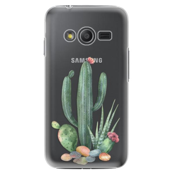 Plastové puzdro iSaprio - Cacti 02 - Samsung Galaxy Trend 2 Lite