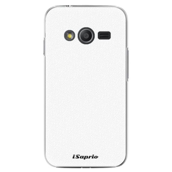 Plastové puzdro iSaprio - 4Pure - bílý - Samsung Galaxy Trend 2 Lite