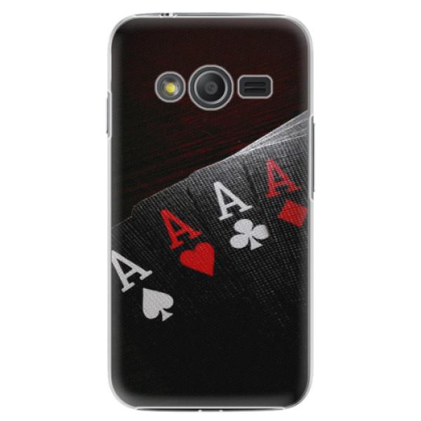 Plastové puzdro iSaprio - Poker - Samsung Galaxy Trend 2 Lite