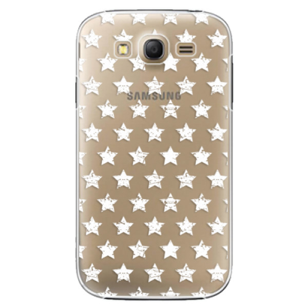 Plastové puzdro iSaprio - Stars Pattern - white - Samsung Galaxy Grand Neo Plus
