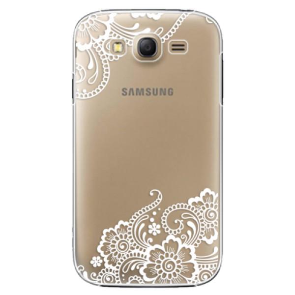 Plastové puzdro iSaprio - White Lace 02 - Samsung Galaxy Grand Neo Plus