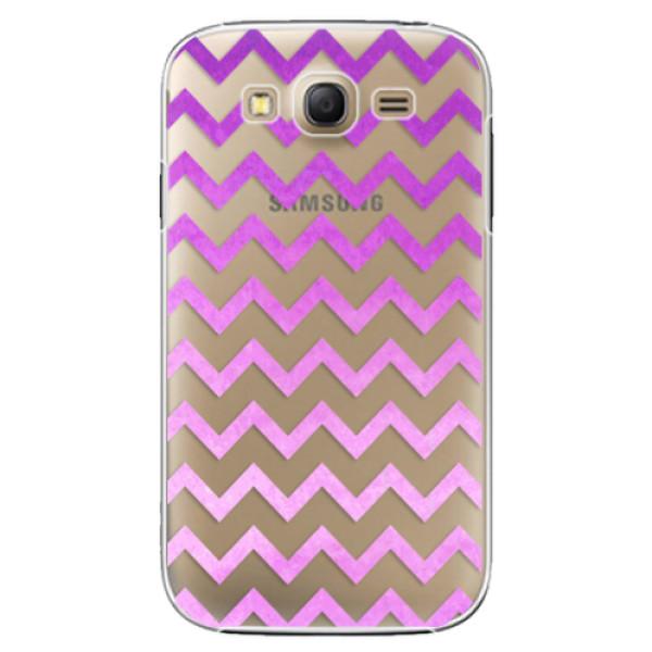 Plastové puzdro iSaprio - Zigzag - purple - Samsung Galaxy Grand Neo Plus