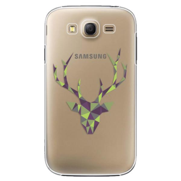 Plastové puzdro iSaprio - Deer Green - Samsung Galaxy Grand Neo Plus