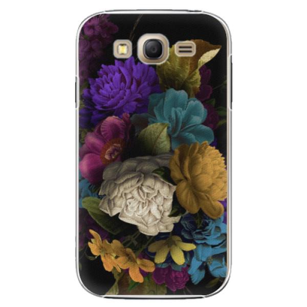 Plastové puzdro iSaprio - Dark Flowers - Samsung Galaxy Grand Neo Plus