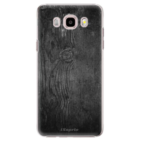 Plastové puzdro iSaprio - Black Wood 13 - Samsung Galaxy J5 2016