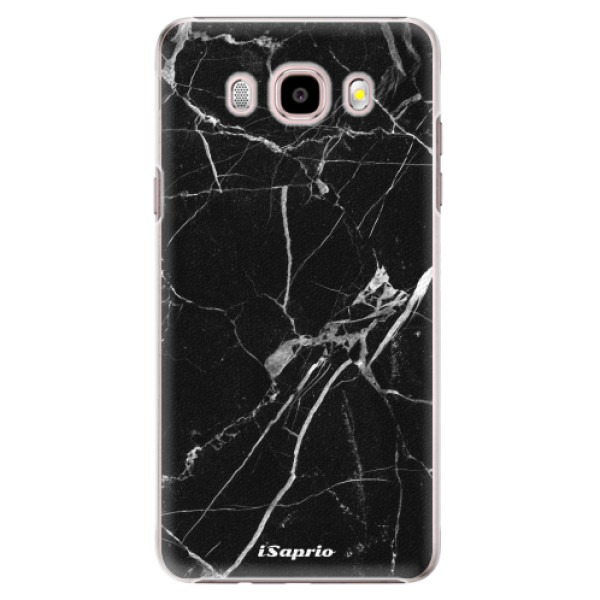 Plastové puzdro iSaprio - Black Marble 18 - Samsung Galaxy J5 2016