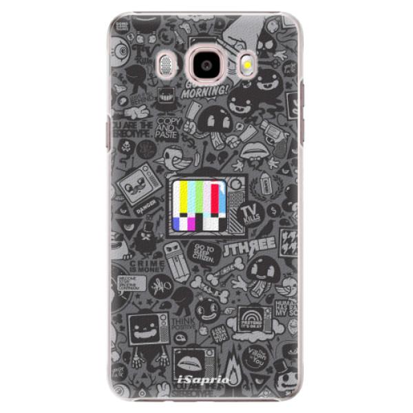 Plastové puzdro iSaprio - Text 03 - Samsung Galaxy J5 2016