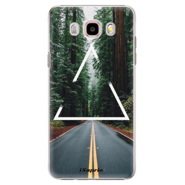Plastové puzdro iSaprio - Triangle 01 - Samsung Galaxy J5 2016