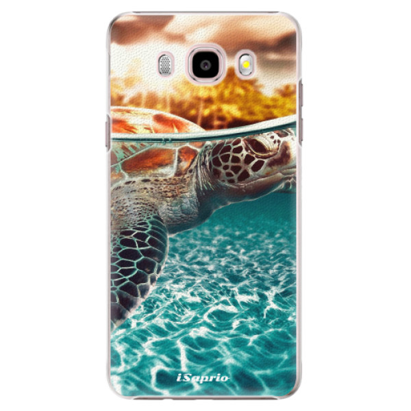 Plastové puzdro iSaprio - Turtle 01 - Samsung Galaxy J5 2016