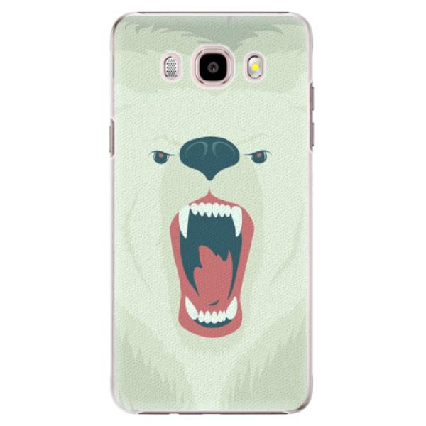 Plastové puzdro iSaprio - Angry Bear - Samsung Galaxy J5 2016