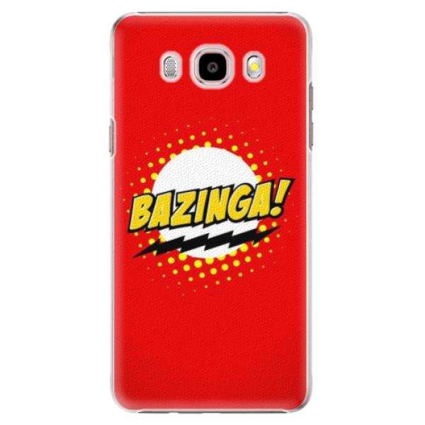 Plastové puzdro iSaprio - Bazinga 01 - Samsung Galaxy J5 2016
