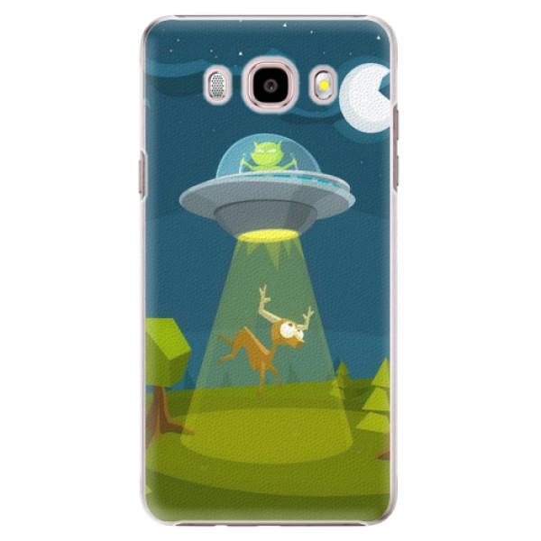 Plastové puzdro iSaprio - Alien 01 - Samsung Galaxy J5 2016