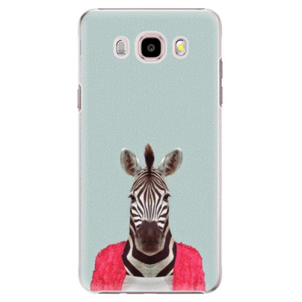 Plastové puzdro iSaprio - Zebra 01 - Samsung Galaxy J5 2016