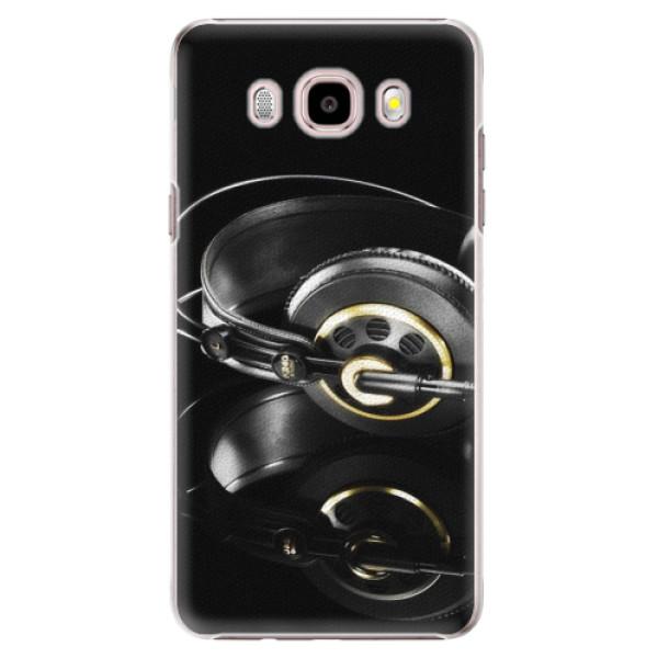 Plastové puzdro iSaprio - Headphones 02 - Samsung Galaxy J5 2016