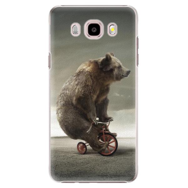 Plastové puzdro iSaprio - Bear 01 - Samsung Galaxy J5 2016