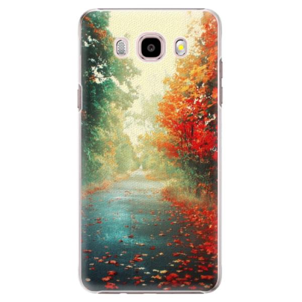 Plastové puzdro iSaprio - Autumn 03 - Samsung Galaxy J5 2016