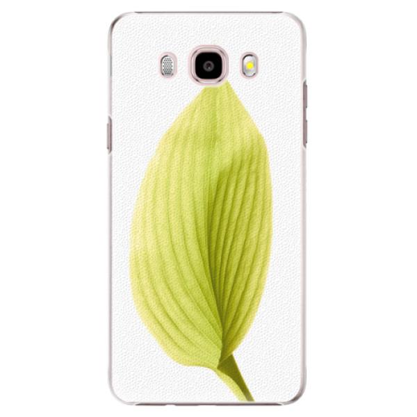 Plastové puzdro iSaprio - Green Leaf - Samsung Galaxy J5 2016