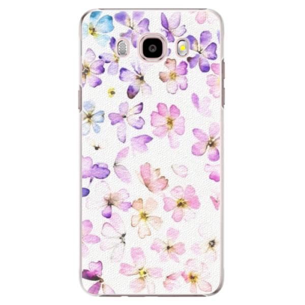 Plastové puzdro iSaprio - Wildflowers - Samsung Galaxy J5 2016