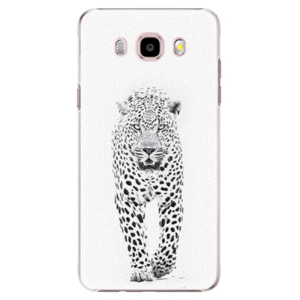 Plastové puzdro iSaprio - White Jaguar - Samsung Galaxy J5 2016