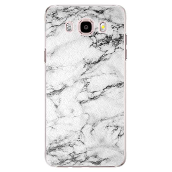 Plastové puzdro iSaprio - White Marble 01 - Samsung Galaxy J5 2016