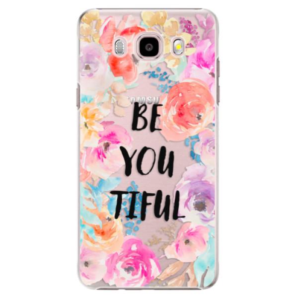 Plastové puzdro iSaprio - BeYouTiful - Samsung Galaxy J5 2016
