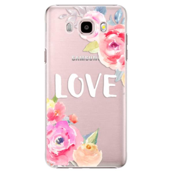 Plastové puzdro iSaprio - Love - Samsung Galaxy J5 2016