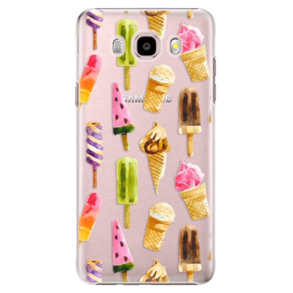 Plastové puzdro iSaprio - Ice Cream - Samsung Galaxy J5 2016
