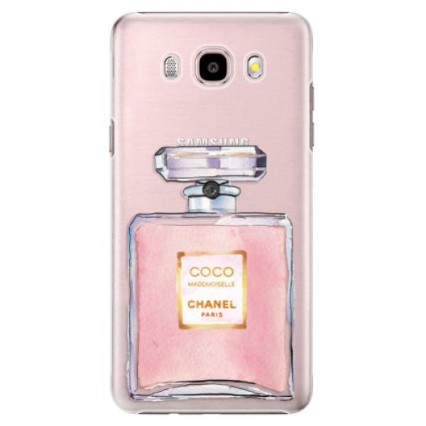 Plastové puzdro iSaprio - Chanel Rose - Samsung Galaxy J5 2016