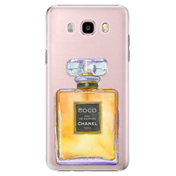 Plastové puzdro iSaprio - Chanel Gold - Samsung Galaxy J5 2016