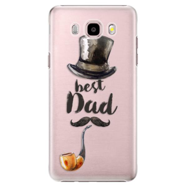 Plastové puzdro iSaprio - Best Dad - Samsung Galaxy J5 2016