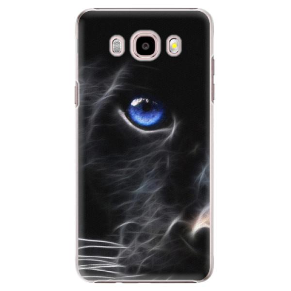 Plastové puzdro iSaprio - Black Puma - Samsung Galaxy J5 2016