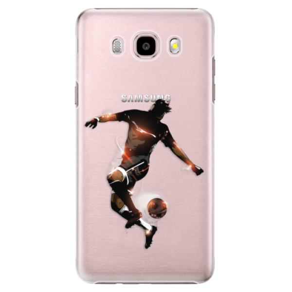 Plastové puzdro iSaprio - Fotball 01 - Samsung Galaxy J5 2016