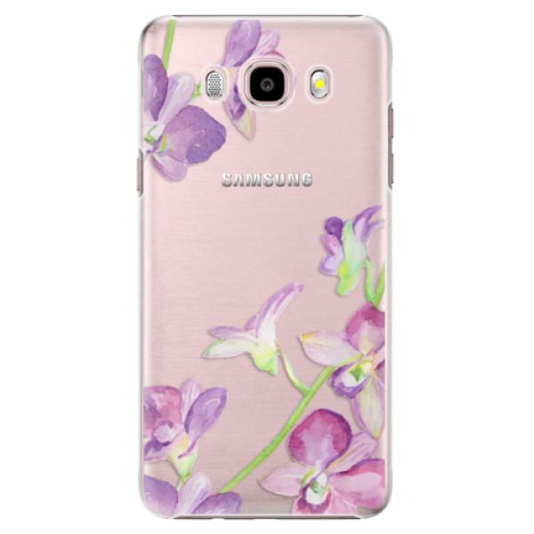 Plastové puzdro iSaprio - Purple Orchid - Samsung Galaxy J5 2016