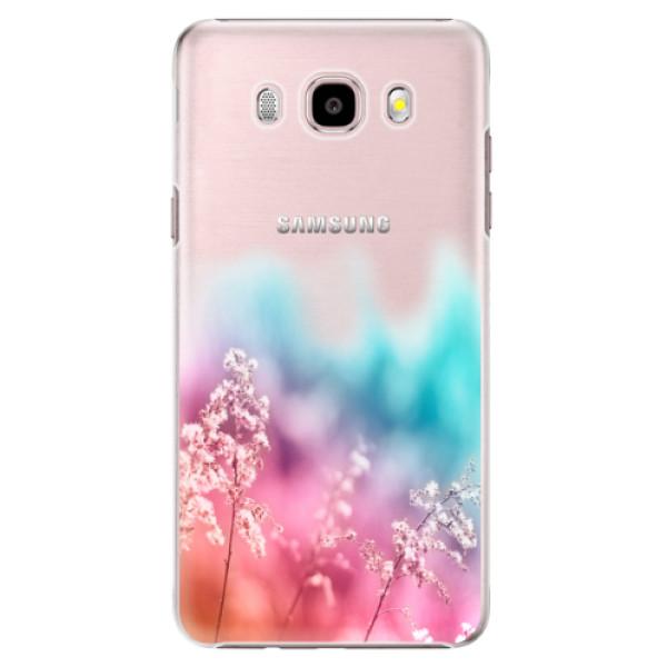 Plastové puzdro iSaprio - Rainbow Grass - Samsung Galaxy J5 2016