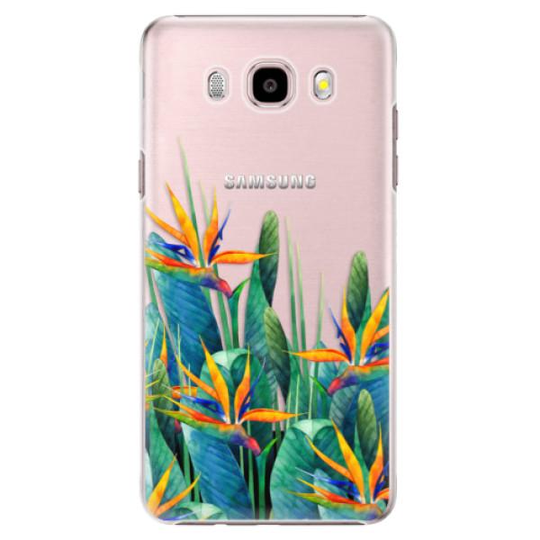 Plastové puzdro iSaprio - Exotic Flowers - Samsung Galaxy J5 2016
