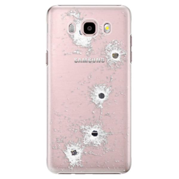 Plastové puzdro iSaprio - Gunshots - Samsung Galaxy J5 2016