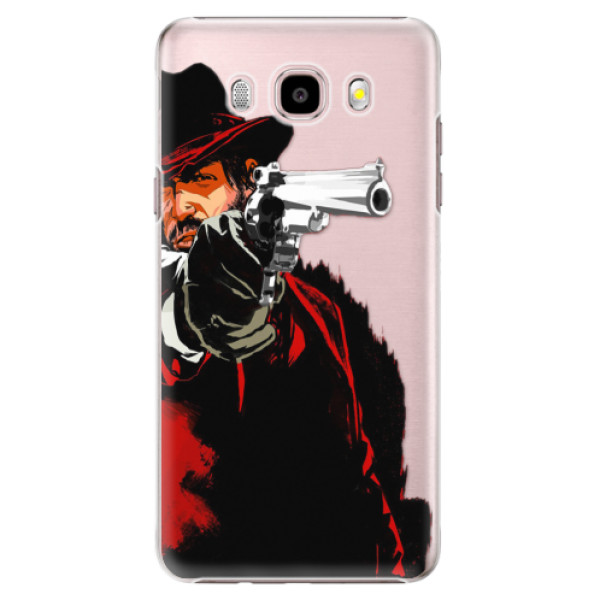 Plastové puzdro iSaprio - Red Sheriff - Samsung Galaxy J5 2016