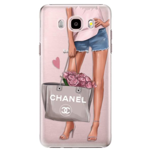 Plastové puzdro iSaprio - Fashion Bag - Samsung Galaxy J5 2016